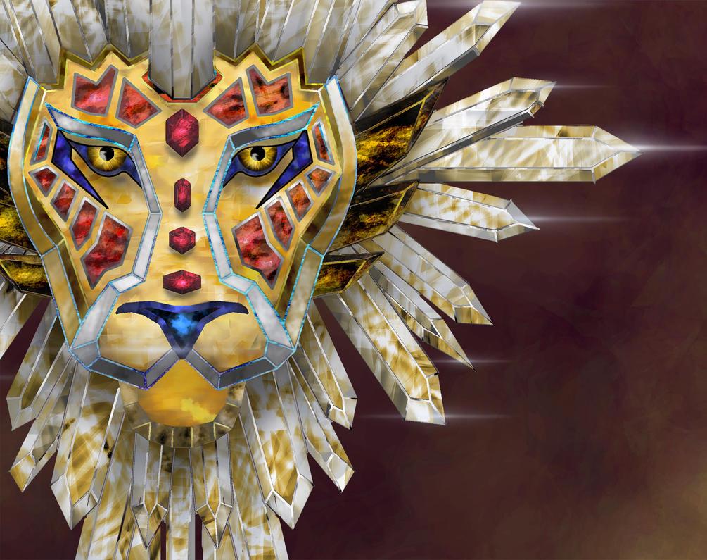 Lion Sigil WIP by Kiminjo
