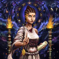 Hypatia, Sage of Alexandria by Kiminjo