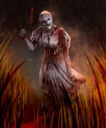 Blood Trail [Dead by Daylight | Nurse] by JinRoo