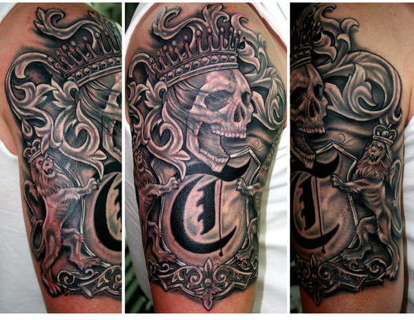 english coat of arms tattoo - photo #28