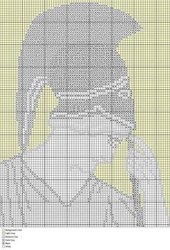 Mourning Athena Rug Pattern