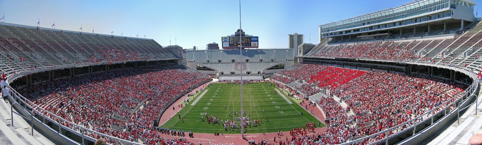 Ohio Stadium Panorama by AreteEirene