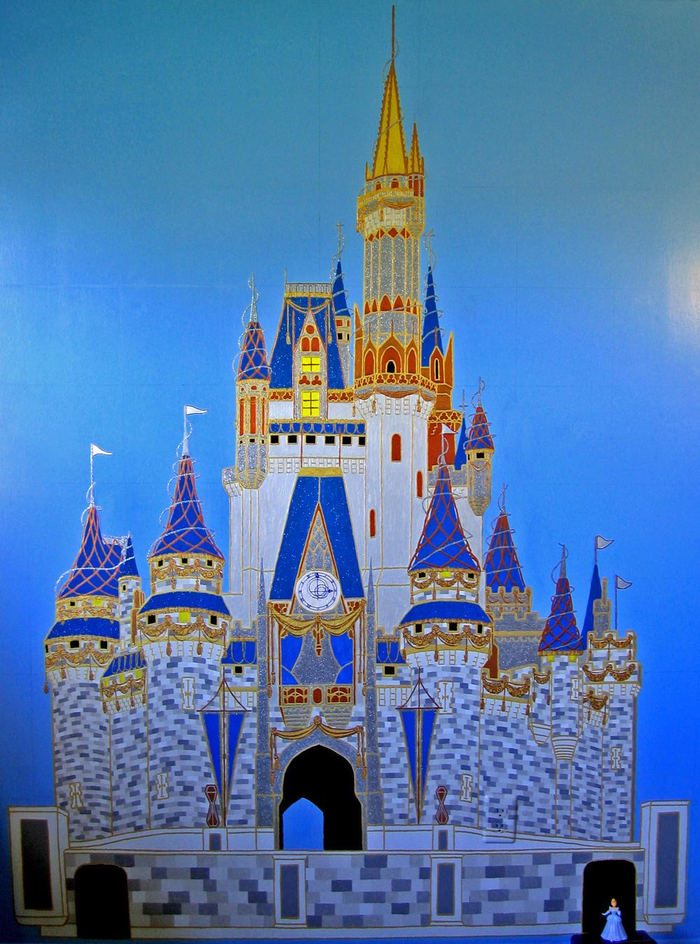 Cinderella Castle Finished By Areteeirene On Deviantart