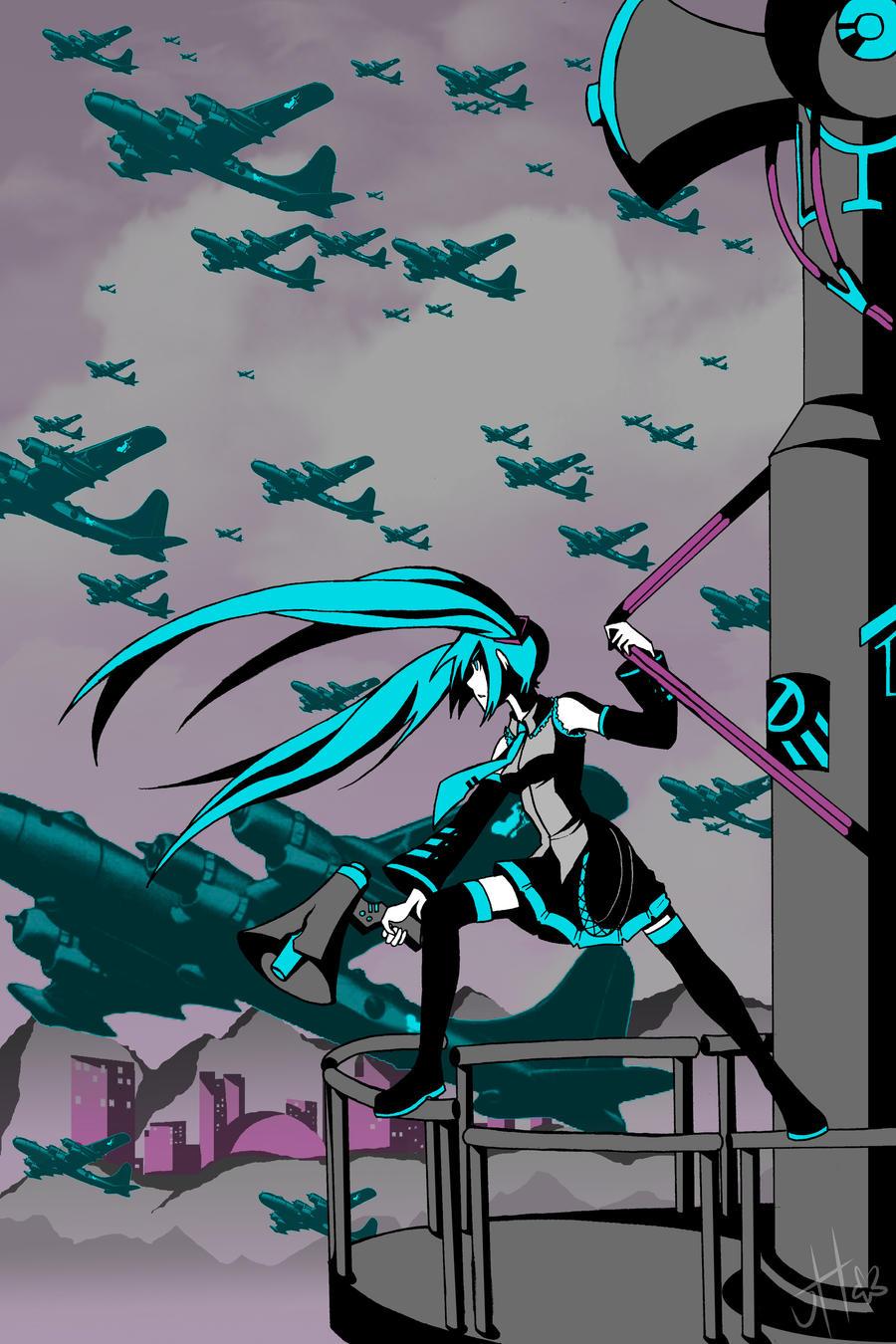 Vocaloid - Love Is War by JigokuHana on DeviantArt