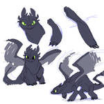 HTTYD - Toothless 2