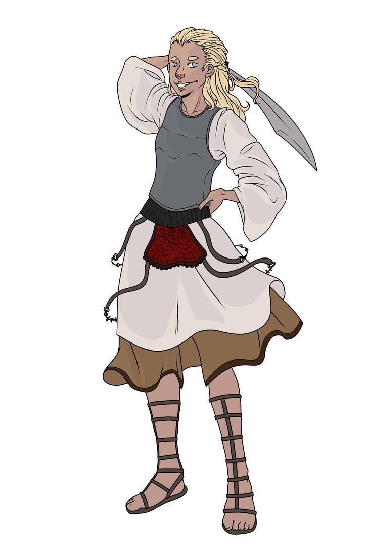 Dervish Dancer Fighter by Unumei