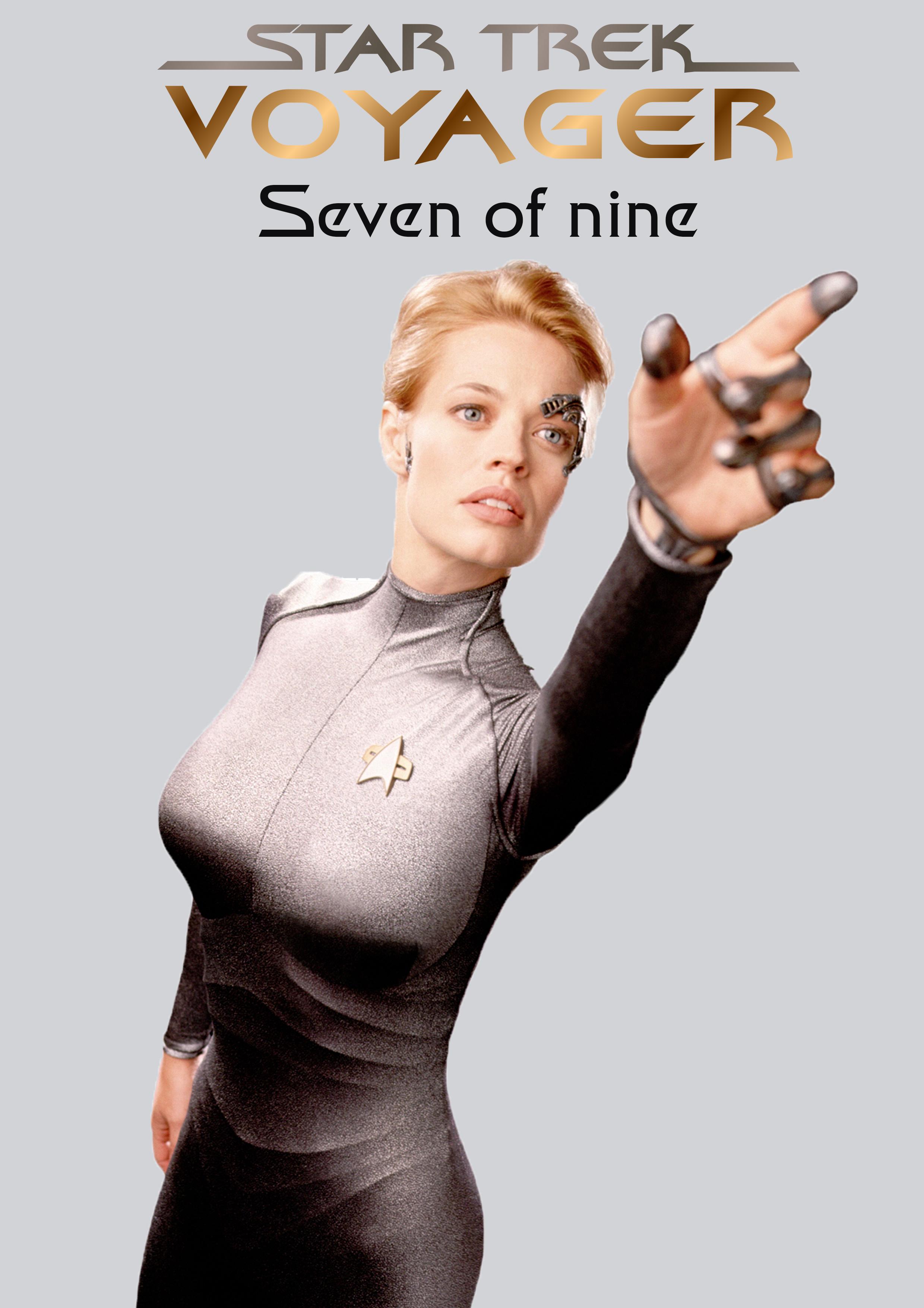 Seven Of Nine Poster (by Jonathan Slack) by Jslack97 on DeviantArt