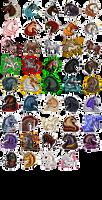 Pixel Masterpost by DanjahMouse