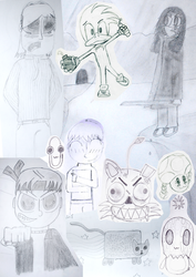 [2009-2012] Assorted Doodles and Sketches
