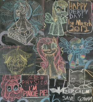 [2012] Assorted Chalk Drawings