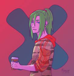 Coffee break by MikanArts
