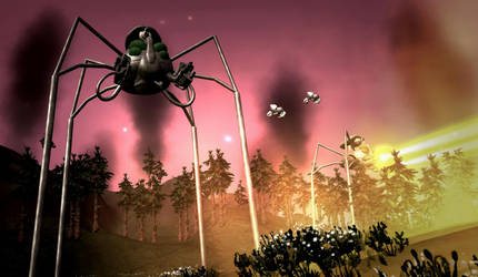 Spore: Martian Tempest by Cryptdidical