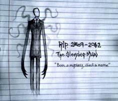 RIP Slender Man by Cryptdidical