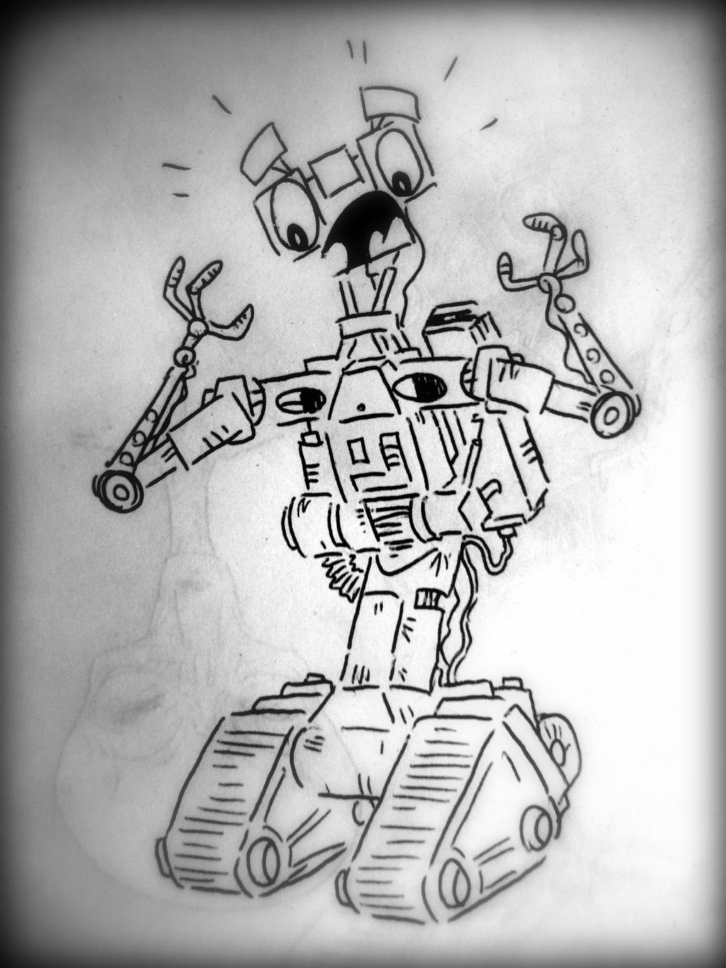 Short Circuit Robot Drawings Web About Wiring Diagram Robots Number Johnny Five By Cryptdidical On Deviantart Rh Com Name