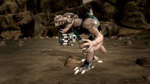 Spore: Duke Nukem 3D Alien Enforcer by Cryptdidical