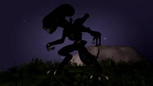 Spore: Xenomorph by Cryptdidical