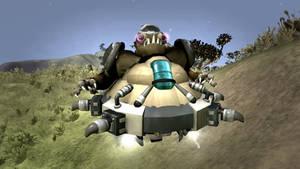 Spore: Duke Nukem 3D Assault Commander by Cryptdidical