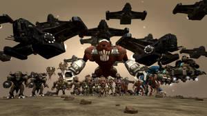 Spore: Duke Nukem 3D Family Photo by Cryptdidical