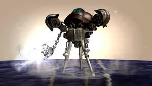 Spore: Cephaloid Enforcer Machine by Cryptdidical