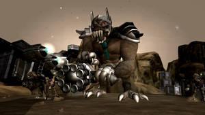 Spore: Duke Nukem 3D Alien Battlelord