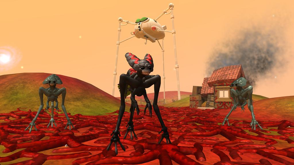 Spore: Prithon - Dragonrage19 OC by Cryptdidical