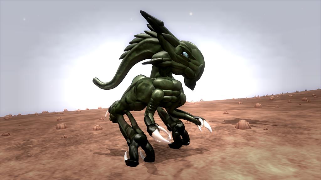 Spore: Skedar by Cryptdidical