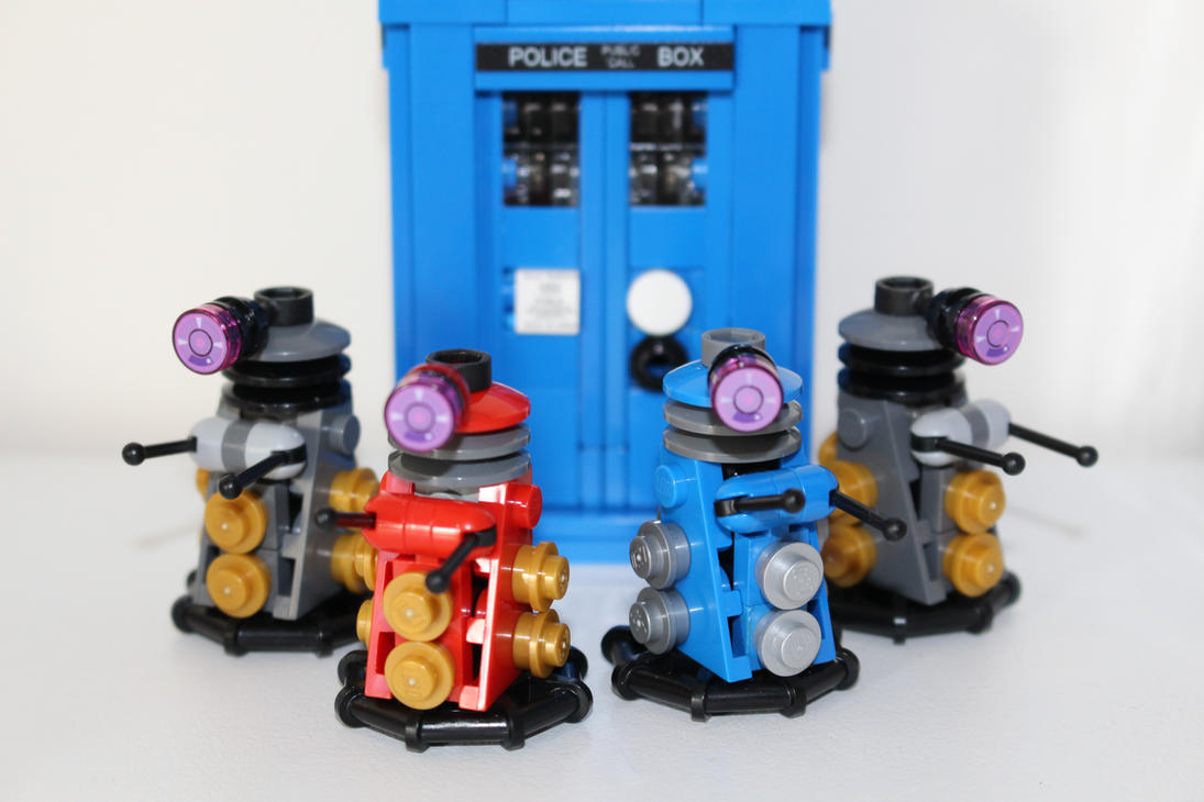 Lego Doctor Who - Classic Daleks by Cryptdidical
