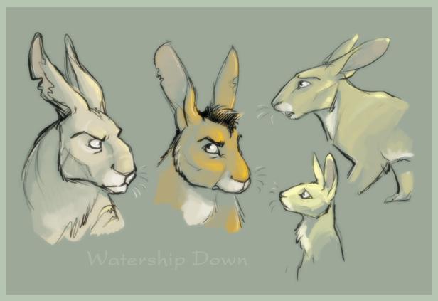 The Rabbits of Watership Down