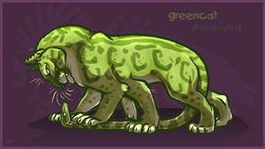 Felis chlorophyta by lyosha