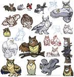 Owls of Noctua, part deux