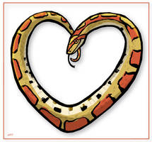 Corn Snakes are Love