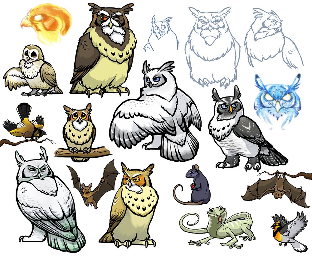 Owls of Noctua, part five by lyosha