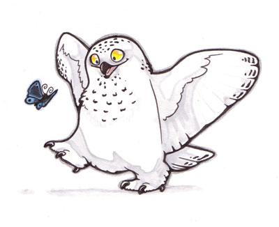Stompy Owl by lyosha