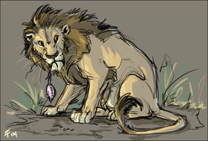 The Lion and the Mouse...y by lyosha