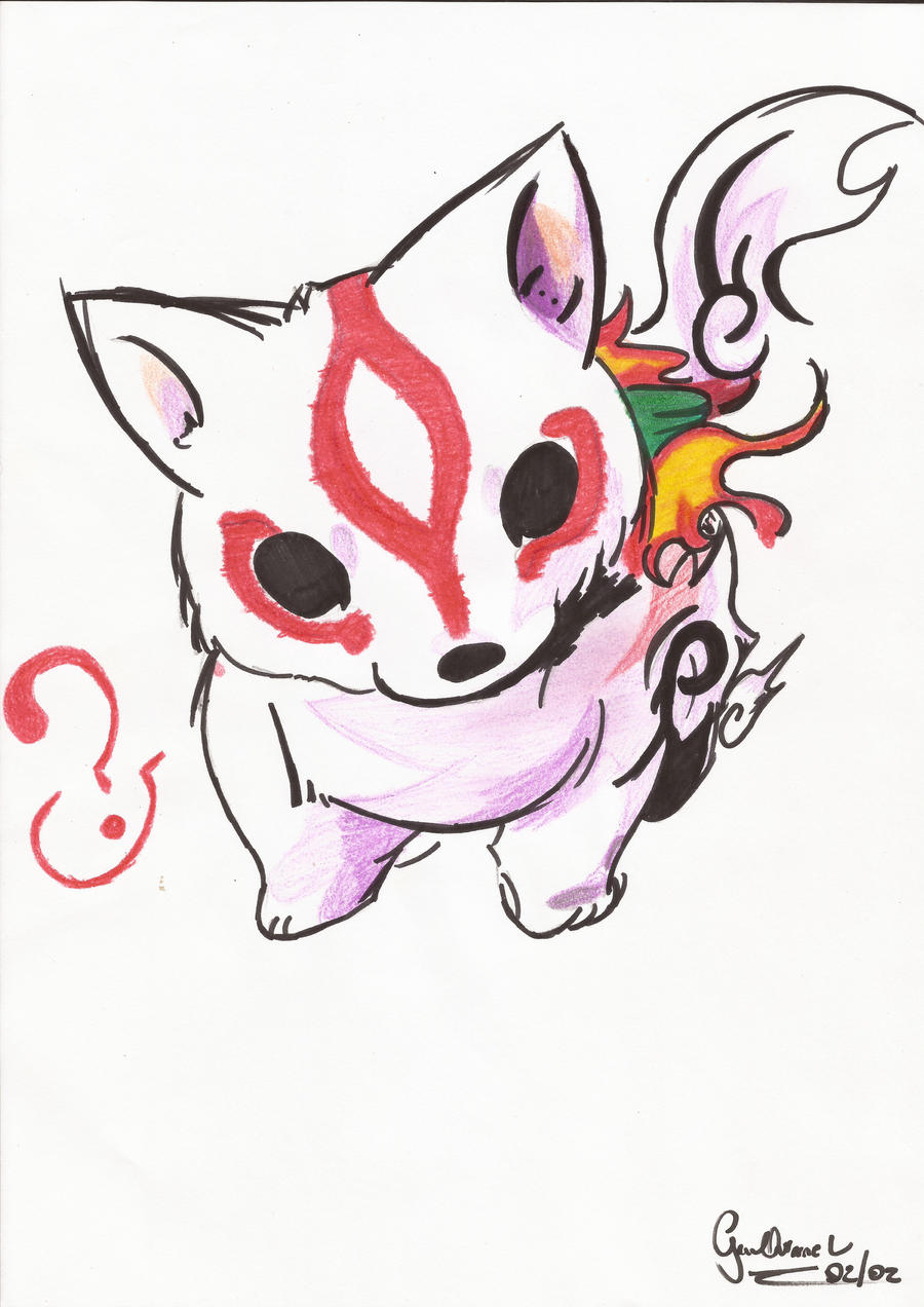 Amaterasu Chibi by Paozinhoow on DeviantArt