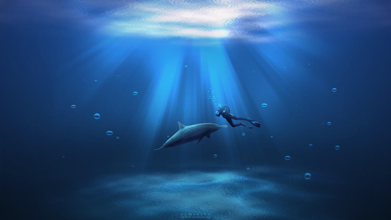 Under Deep Ocean By Almirith7 On Deviantart