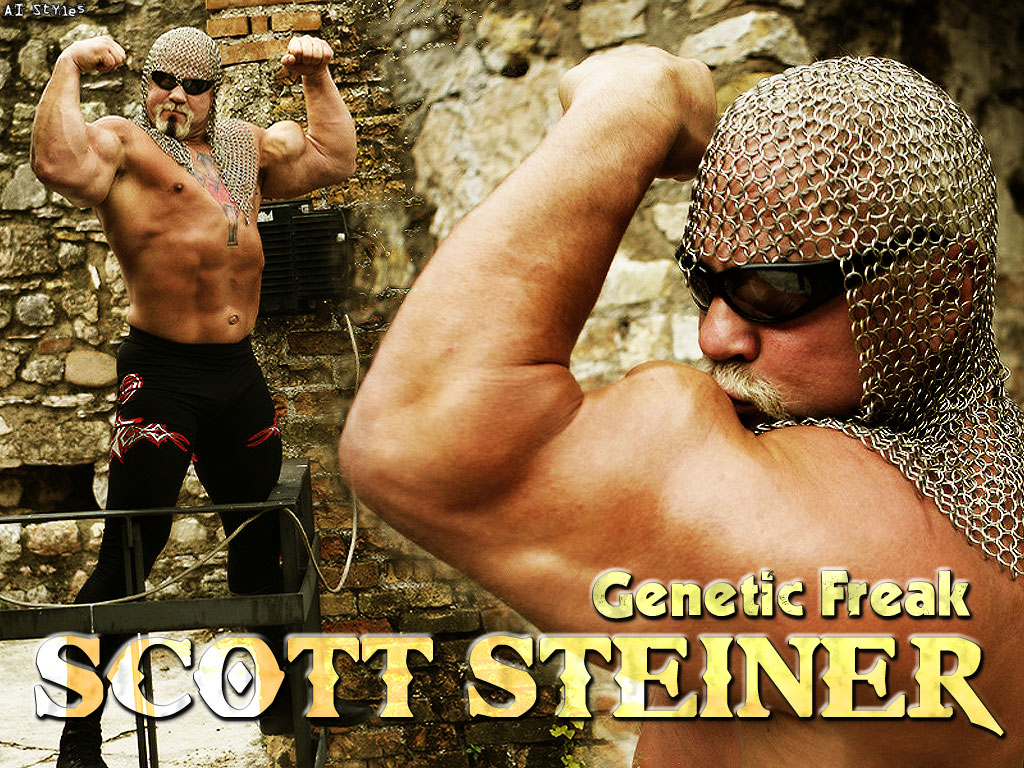 Scott Steiner Wallpaper by AISTYLES