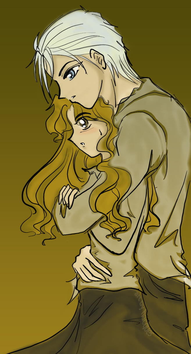 Dramione Back Hug by hacques