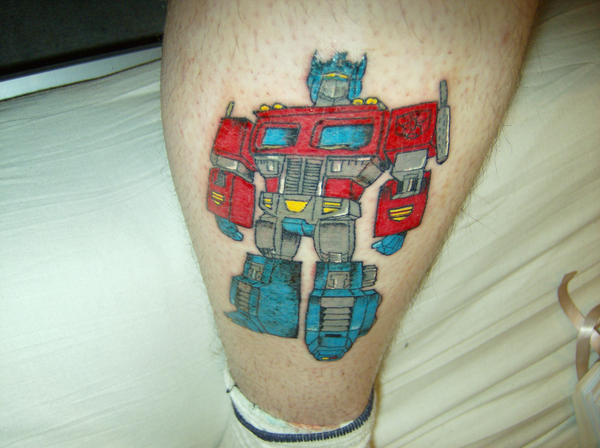 Optimus Prime Tattoo by deanw666