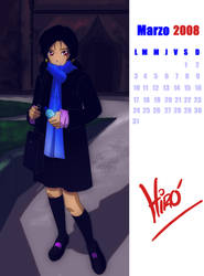 Marzo 2008 Calendario by Hir0