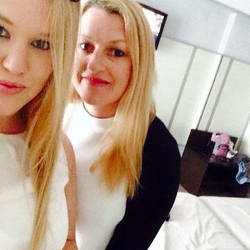 mother and daughter holiday