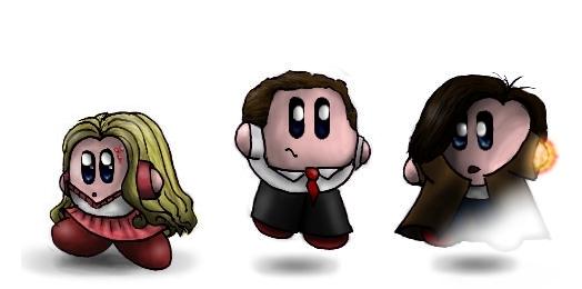 Heroes Kirbies by littlemisskirby