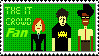 The IT Crowd Stamp by littlemisskirby