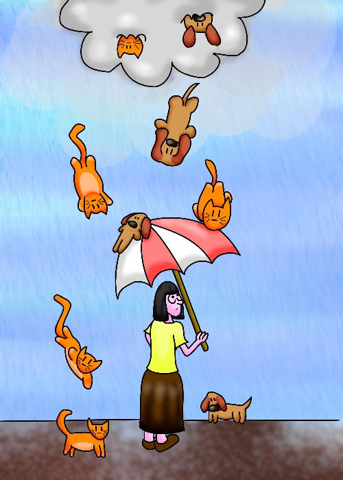 Diy Raining Men Costume: Its Raining Cats And Dogs By Littlemisskirby On DeviantArt