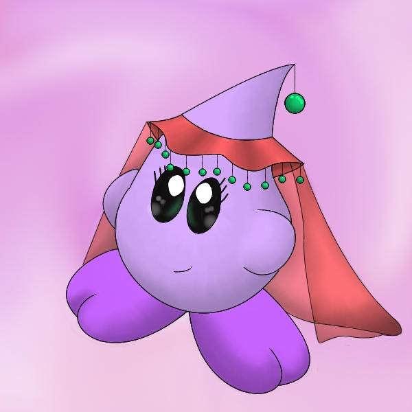 Cute Kirby Wallpaper Cute kirby-like thingy by