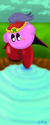 Ninja Kirby by littlemisskirby