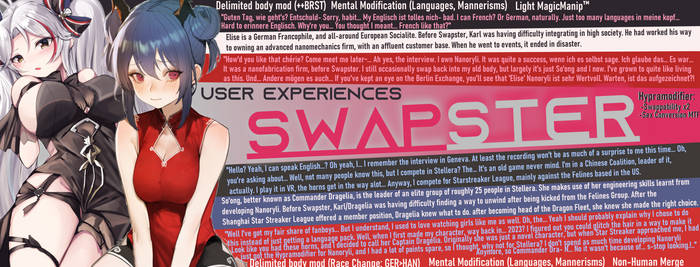 Swapster - User Experiences - Double Life (TG/TF)