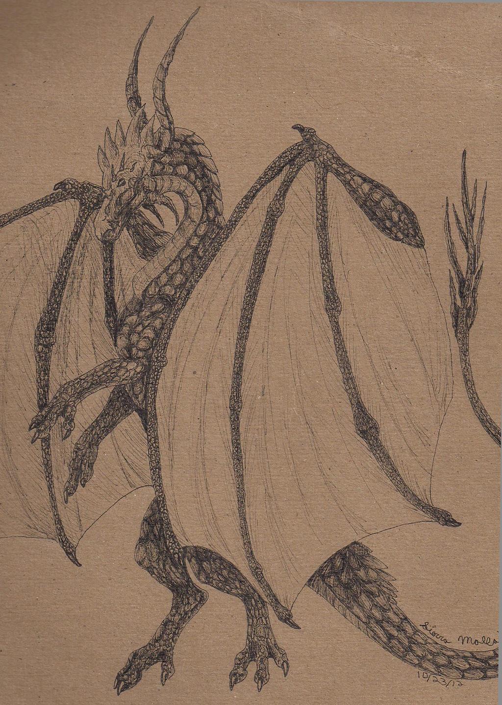Notebook Dragon by Falon-Pride