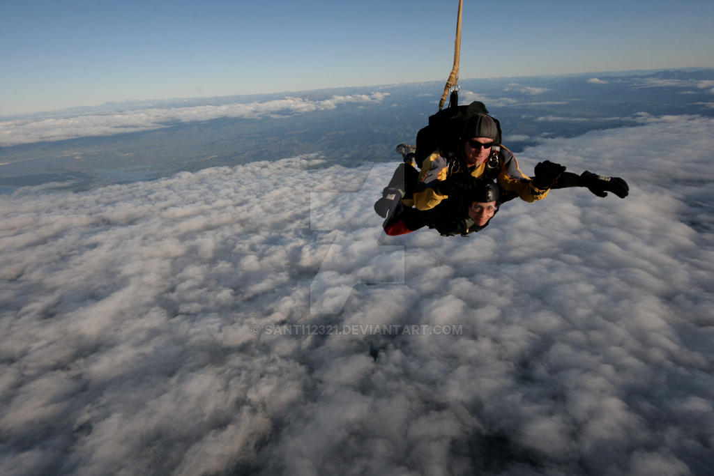 Sky Diving by santi12321
