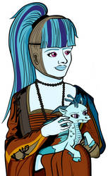 Sonata Dusk - Lady with an Ermine